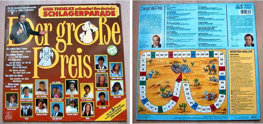 Der Grosse Preis - Deutsche Schlagerparade - LP Vinyl von 1985