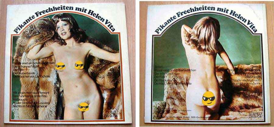 Helen Vita - Pikante Frechheiten mit Helen Vita - LP Vinyl von 1967?