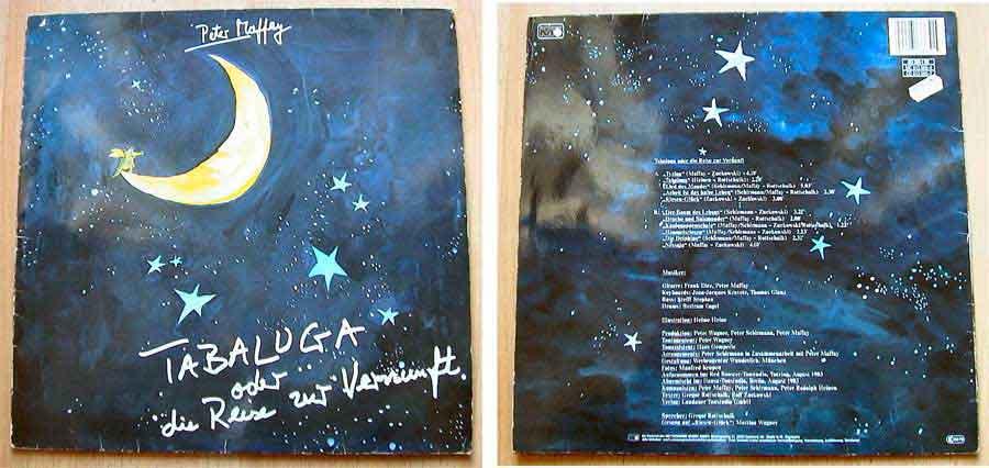 Peter Maffay - Tabaluga oder die Reise zur Vernunft - LP Vinyl von 1983