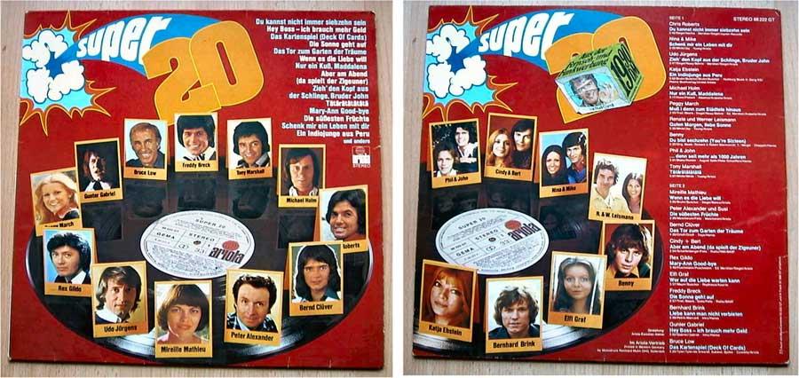 Super 20 - LP Vinyl von 1974