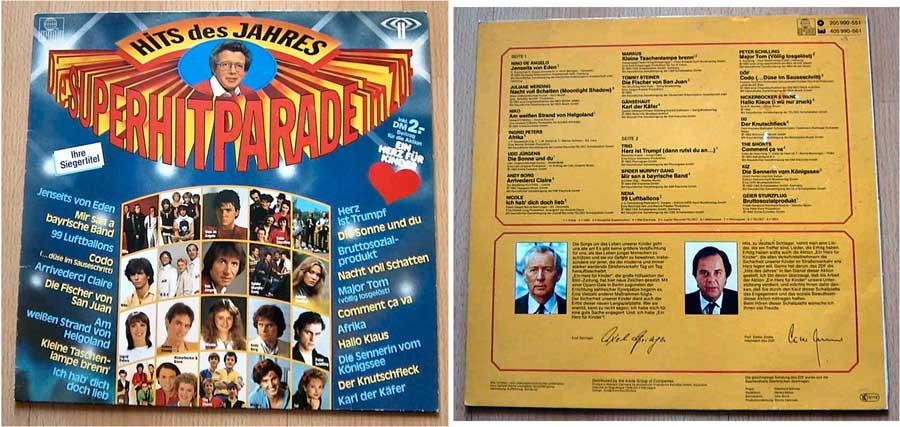 Die Super-Hitparade im ZDF - LP Vinyl von 1983