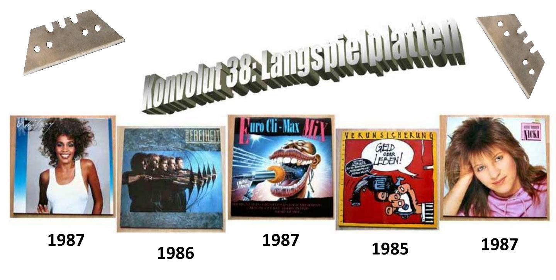Echt scharf, Messerscharfe Musik auf Schallplatte, LP Vinyl