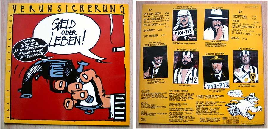 Erste Allgemeine Verunsicherung - LP Vinyl 12 Zoll von 1985