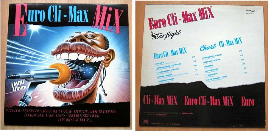 Euro Cli-Max Mix - LP Vinyl 12 Zoll von 1987