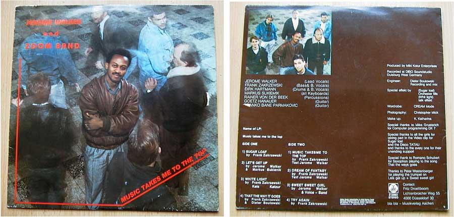 Jerome Walker & Zoom Band - LP Vinyl 12 Zoll von 1987