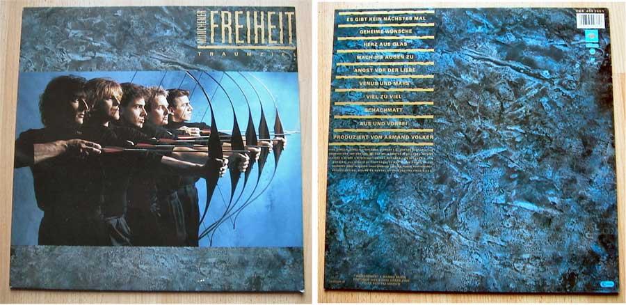 Münchener Freiheit - Traumziel - LP Vinyl 12 Zoll von 1986