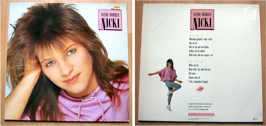 Echt scharf Nicki - Kleine Wunder - LP Vinyl 12 Zoll