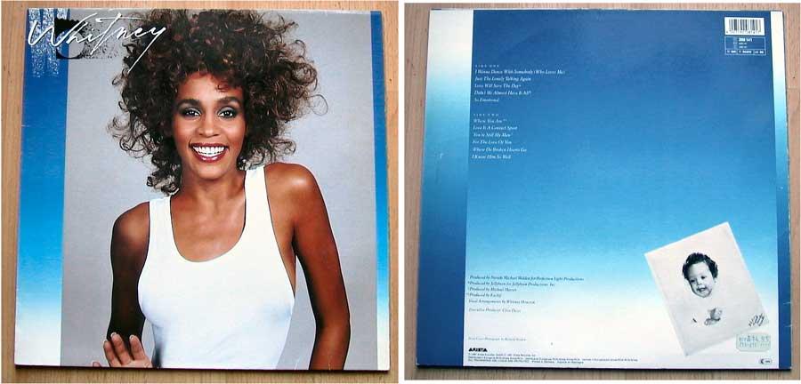Echt scharf Whitney Houston - Whitney - LP Vinyl