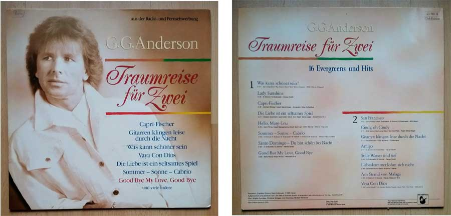 GG Anderson Traumreise - LP Vinyl, Schrott ?