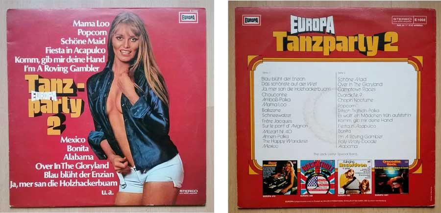 Partymusik auf LP, Europa Tanzparty