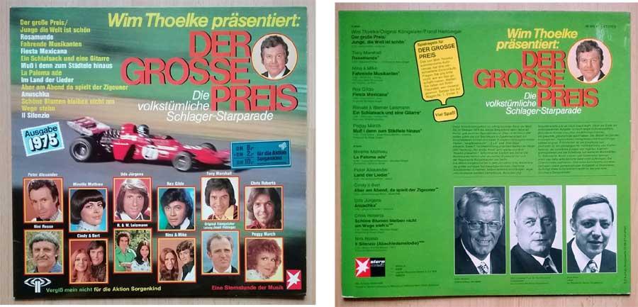 Wim Thoelke der Grosse Preis Schlager-LP