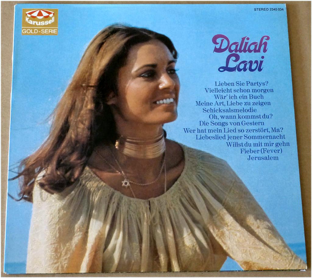 Sympathische Sängerin auf Vinyl