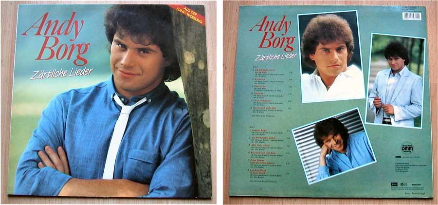 Andy Borg - Zärtliche Lieder auf LP Vinyl von 1984