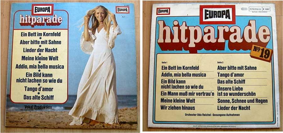 Europa Hitparade No. 19 auf LP Vinyl von 1976