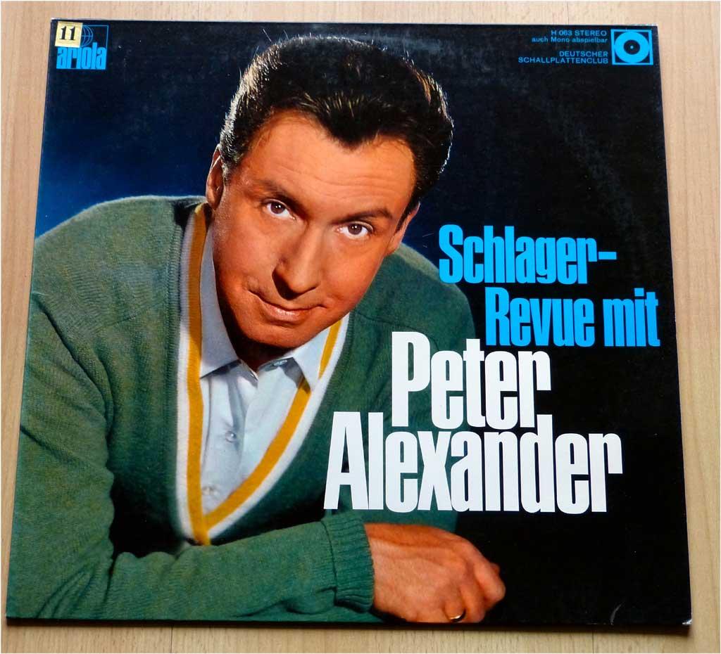 LP Schlagerrevue Peter Alexander