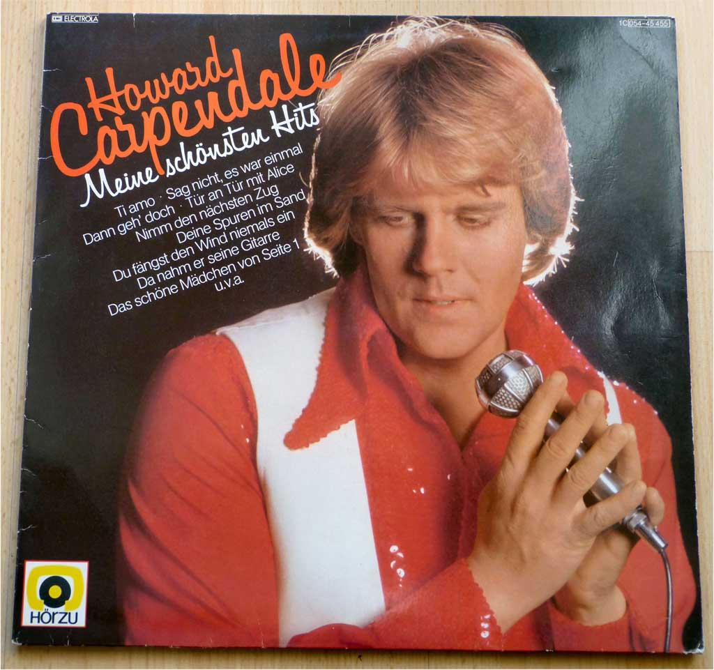 Schallplatte von Howard Carpendale