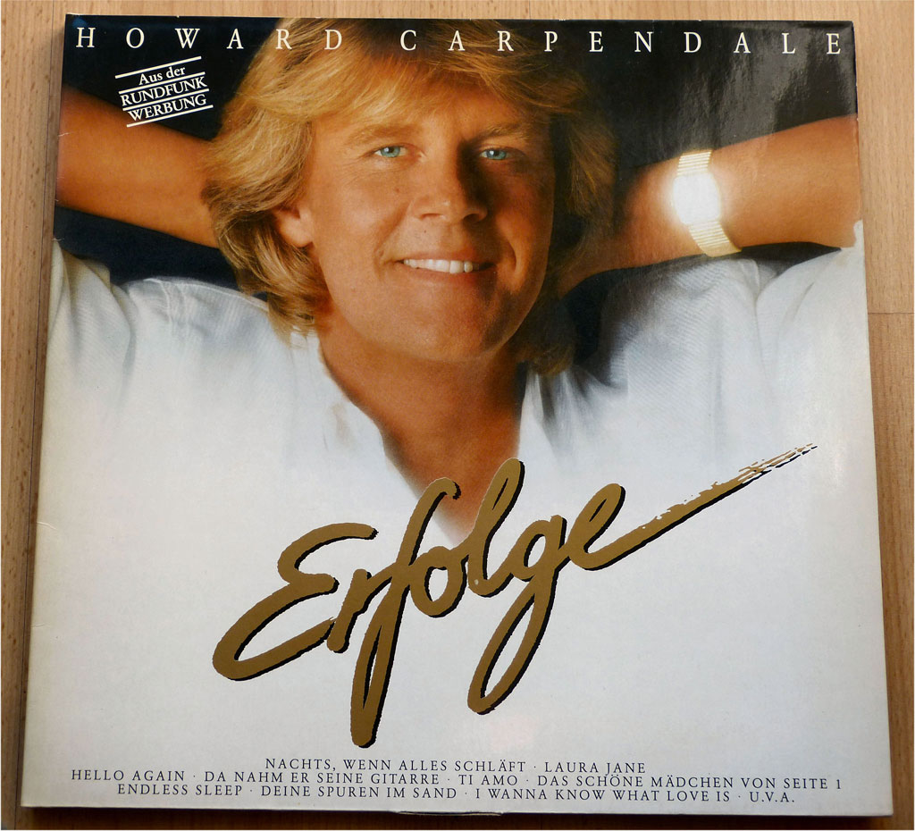 LP Erfolge von Howard Carpendale