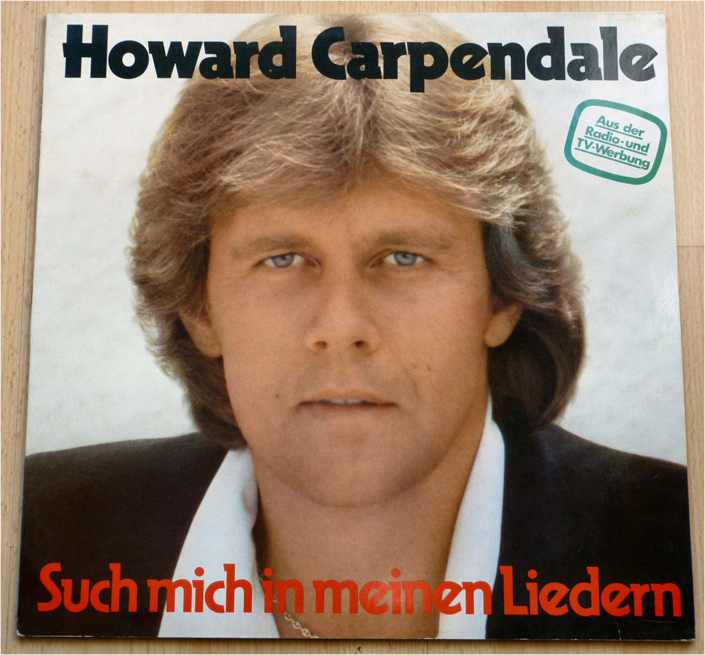 Schlagersaenger Howard Carpendale