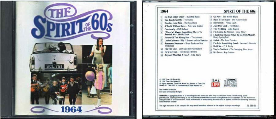 1964 Geist der 60er CD Cover