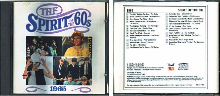 1965 Geist der 60er CD Cover