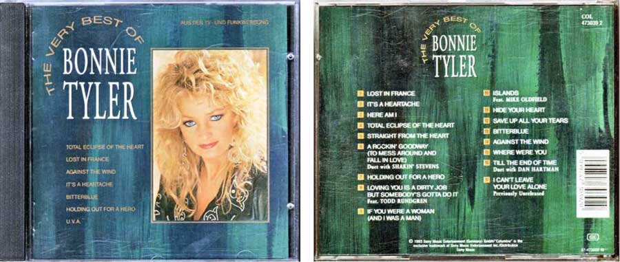 Bonnie Tyler 5099747303920 CD Cover