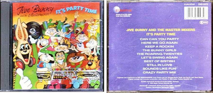Jive Bunny 4012175100726 CD Cover