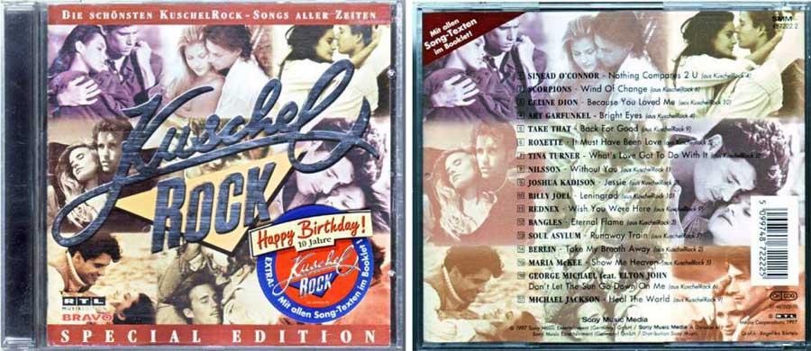 kuschel rock 5099748722225 CD Cover