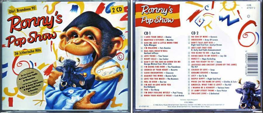 Ronnys Pop Show CD Cover