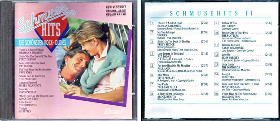 schmuse hits oldies CD Cover
