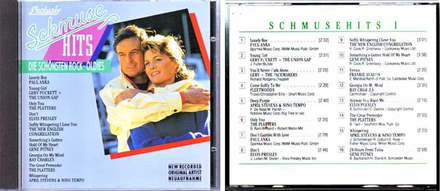 schmusehits rockoldies CD Cover
