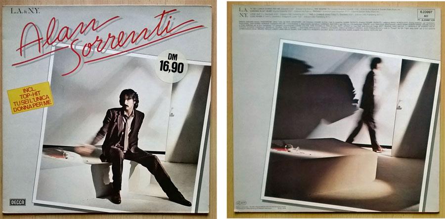 LP von Alan Sorrenti Incl. Top-Hit - Schatzsucher