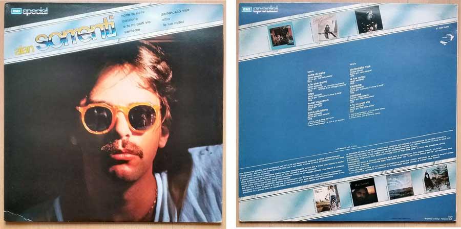 Langspielplatte von Alan Sorrenti Italiano Songs