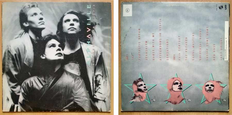 Elektronische Musik von Alphaville auf Vinyl