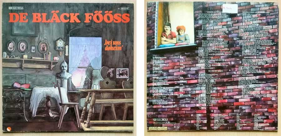 Vinyl, Album aus Köln von den Bläck Fööss