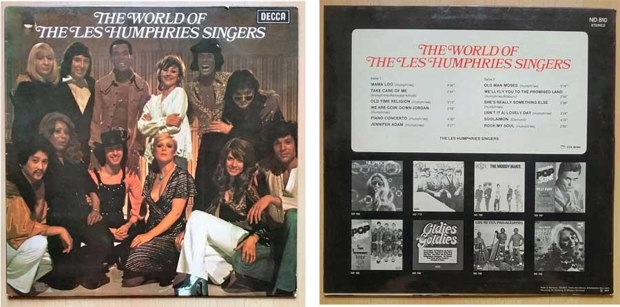 Langspielplatte mit den Les Humphries Singers