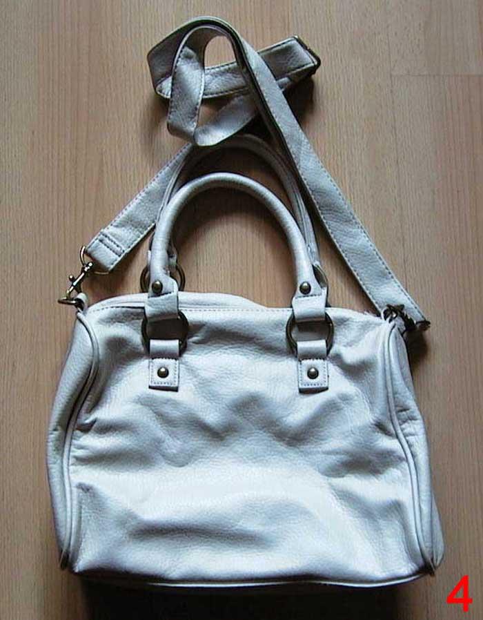 Helle gebrauchte Damentasche Handtasche
