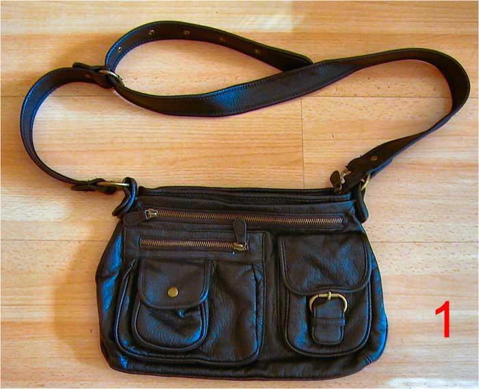 Handtasche Mix Your Style, gebrauchte Umhaengetasche