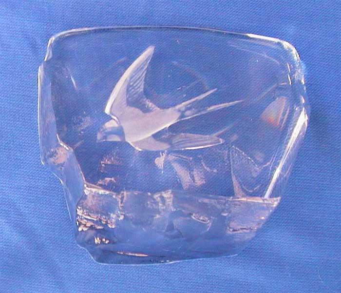 Dekorglas Briefbeschwerer aus Glas