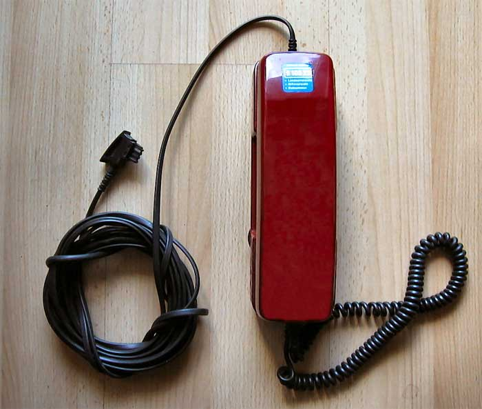 Rotes Telefon Dallas
