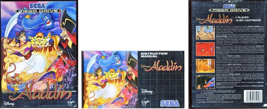 Videospiel von Disney Aladdin