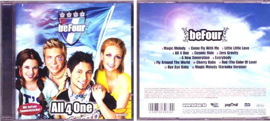 BeFour - All 4 One - CD von 2007
