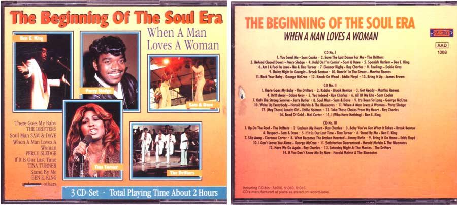 The Beginning Of The Soul Era - CD 1 bis 3