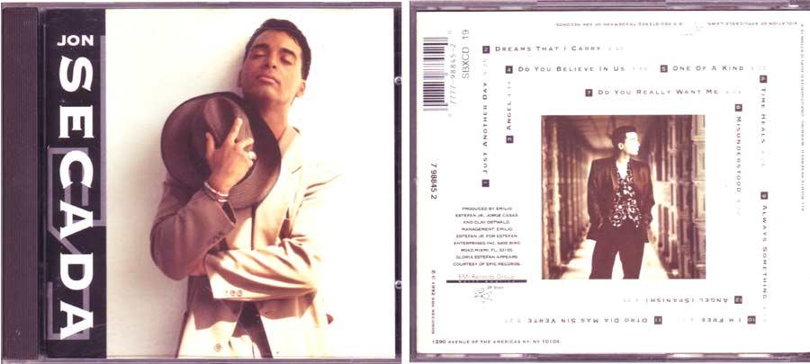 Jon Secada - CD von 1992