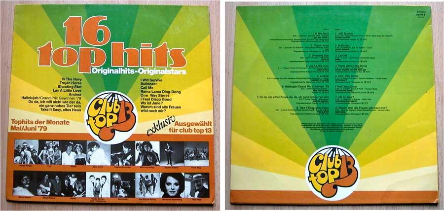 16 Top Hits - Tophits der Monate Mai und Juni 1979