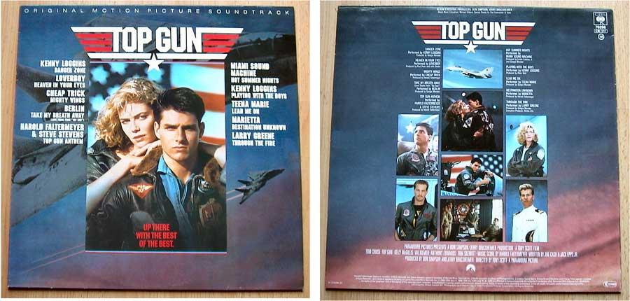 Top Gun - LP 12 Zoll - Vinyl von 1986