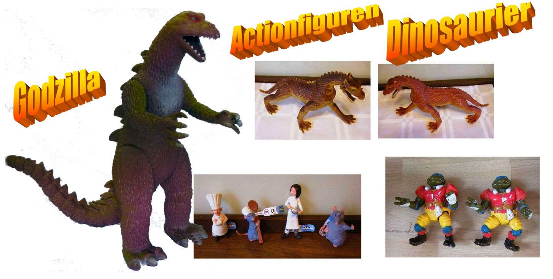 Gebrauchte Actionfiguren wie Spielzeug - Banner