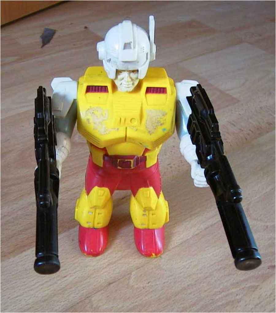 Hasbro Transformers Spielzeugroboter von 1989