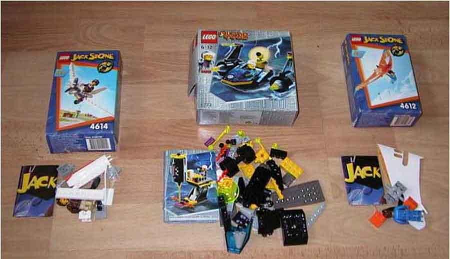 Kleines Lego Konvolut - Jack Stone