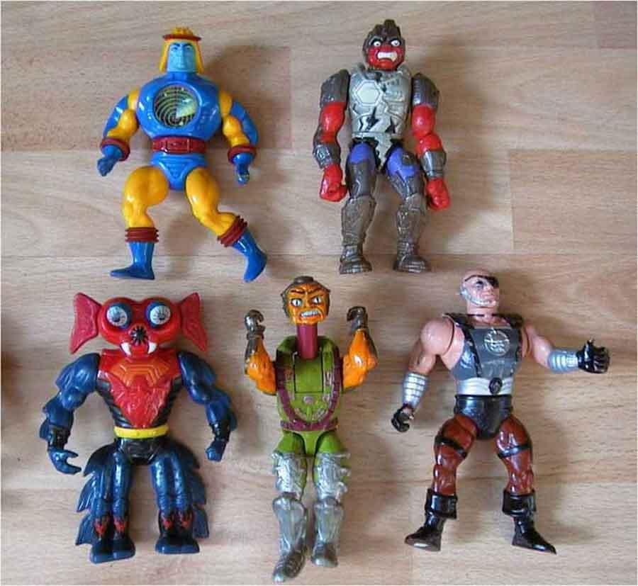 Masters of the Universe - Figuren aus den 80er Jahren