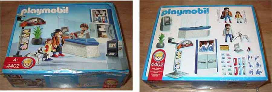 Playmobil 4402 der Bankschalter